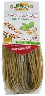 Garlic & Basil Flavoured Linguine Pasta