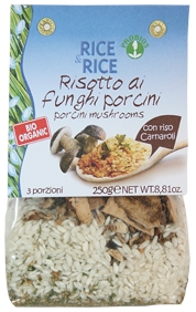 Risotto With Mushrooms - Ready For Cooking