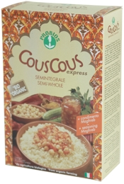 Semi-wholewheat Cous Cous With Sauce