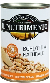Tinned Brown Borlotti Beans