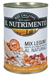 Tinned Mixed Pulses All Natural