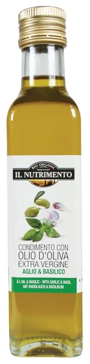 Garlic & Basil Infused Extra Virgin Olive Oil