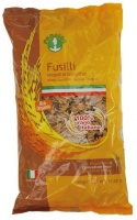 Wholewheat Fusilli Pasta shapes