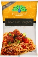 Peacock - Brown Rice Spaghetti (200g)